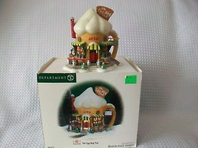Dept 56, North Pole Series Elf Land The Egg Nog Pub