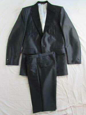 Vtg Pagano West 2 Pc Polyester Western Suit Rockabilly Jacket & Pants USA Made