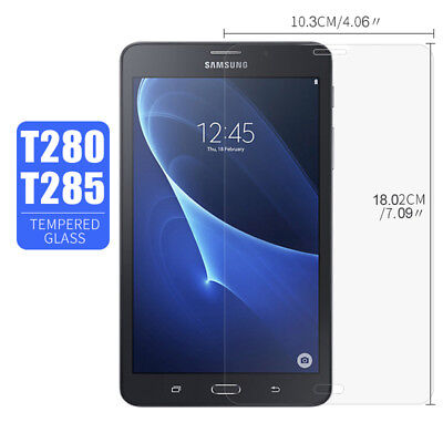 9H Tempered Glass Screen Protector Film for Samsung Galaxy Tab A T280 T285 7.0""