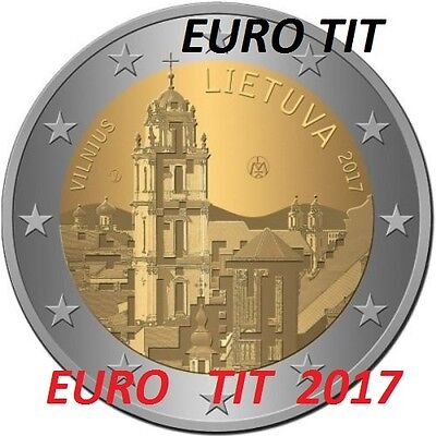 2 €  LITUANIE   COMMEMORATIVE  1  X  PIECE   NOUVEAU    2017    2017  disponible