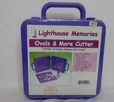 Scrapbook Lighthouse Memories Ovals More Cutter Case Stamping