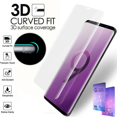 Samsung Galaxy S9+ S8 S9 Plus Note 8 Full Cover Tempered Glass Screen Protector