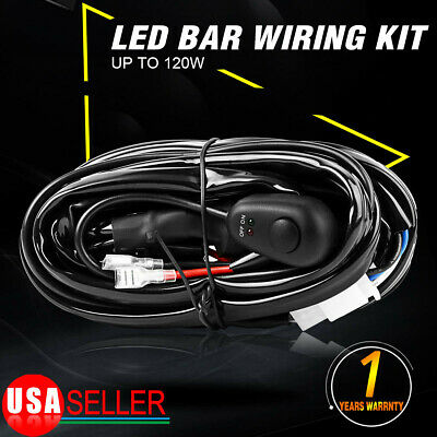 8FT Power Switch Relay Wiring Harness Kit 8ft power switch & relay wiring harness kit for led light bar off