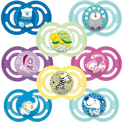 Mam Baby Soother Dummy Pacifier Teat Nipple 0m+ / 6m+ Boy / Girl Perfect Sale