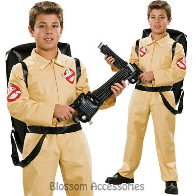 ck574 deluxe ghostbusters boys boiler suit child kid costume book week halloween