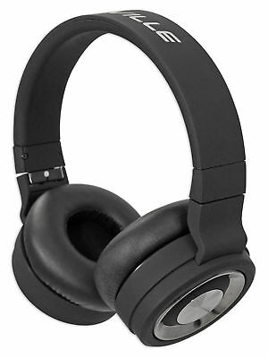 Rockville BTH5 Wireless Bluetooth Headphones w/Mic, Foldable+Detachable Cable