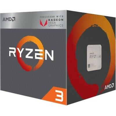 AMD Ryzen 3 2200G Quad-core [4 Core] 3.50 GHz Processor - Socket AM4 - Retail