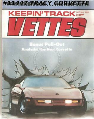 February 1983 KEEPIN' TRACK OF VETTES 1984 Corvette 1963 History Daytona Beach