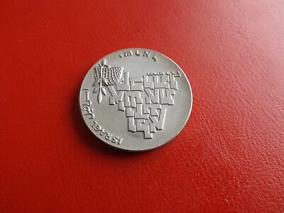 * Israel 10 Pfund/Lirot 1969 Silber * Peace - 21st Anniversary of Independence