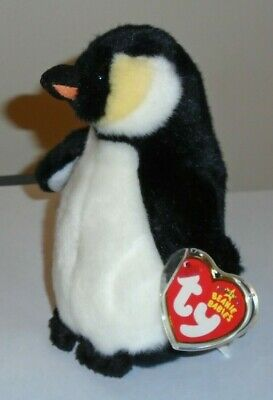 Ty Beanie Baby ~ ADMIRAL the Penguin ~ MWMT