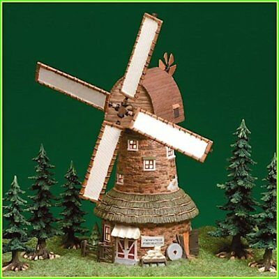 Dept 56 Dickens Animated- Crowntree Freckleton Windmill 58472 Numbered Brand New