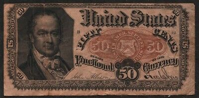 Fractional Currency 50c note series of 1875