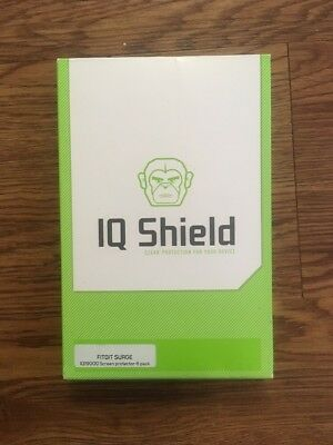 IQ Shield Fitbit Fit Bit Surge Liquid Skin Protection Box 9 Skin Sheets READ PLS