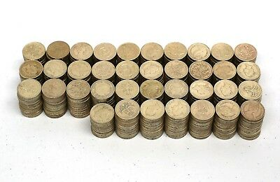 368 Old One Pound Coins The United Kingdom