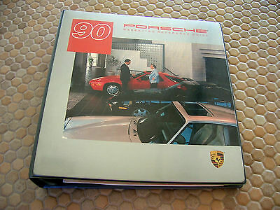 Porsche 944 911 928 Series Marketing Reference Guide Book Manual Brochure 1990.