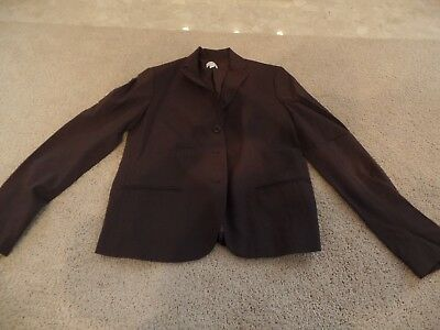 Women Blazer/Jacket, A Pea in the Pod Maternity, Brown, Dress, Small, Ex. Con.