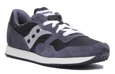 f25ac2f4 SAUCONY DXN TRAINERS in Grey & Maroon - retro runners, vintage sole ...