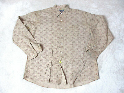 VINTAGE Ralph Lauren Polo Button Up Shirt Adult Extra Large Cowboys Western Mens