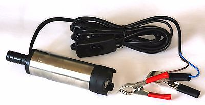 12 volt submersible pump hydroponics camping water bilge diesel transfer