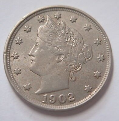 US 1902 Liberty Head Nickel