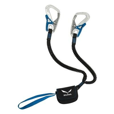 Salewa Set Via Ferrata Ergo Core silver/royal blue Klettersteigset Klettern