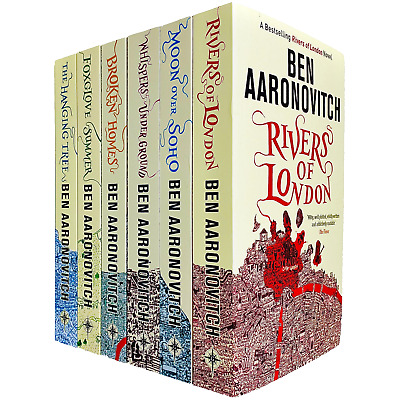 A Rivers of London Series Collection Ben Aaronovitch 6 Books Set Hanging Tree