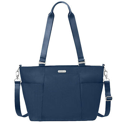 Baggallini Medium Avenue Tote Travel Handbag Pacific