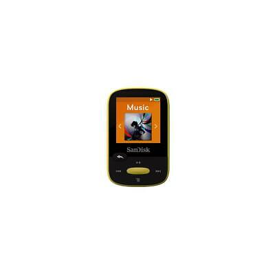 SanDisk 8GB Clip Sport MP3 Player, 1.44 LCD Display, Yellow #SDMX24-008G-A46Y