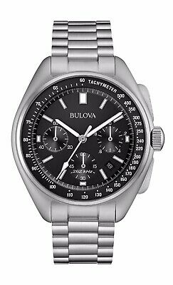 Bulova Men's Special Edition Moon Apollo 15 262Khz Frequency Watch 96B258