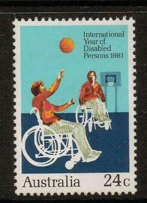 Australia Sg827 1981 Int Year For Disabled Persons  Mnh