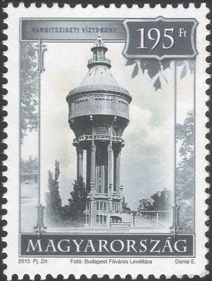 Hungary 2013 Budapest/Water Tower/Building/Architecture/History 1v (n45743)