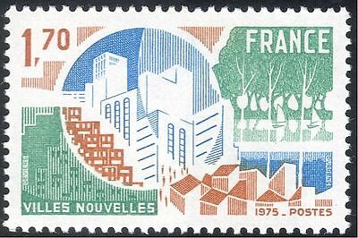 France 1975 Urban Development/Buildings/Architecture/Houses/People 1v (n43367)
