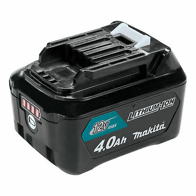 Makita BL1041B 12 Volt Max CXT 4.0 Ah Compact Lithium Ion Power Tool Battery