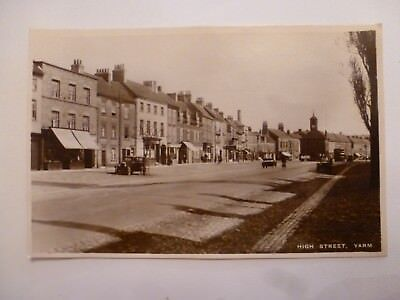 Vintage Postcard High Street Yarm Real Photograph  (N)