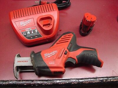 Milwaukee 2420-20 M12 Variable Speed 12 Volt Cordless Reciprocating Saw HackZall