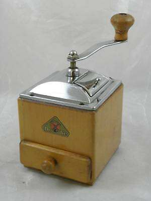 Vintage Dutch DeVe Coffee Mill / Grinder