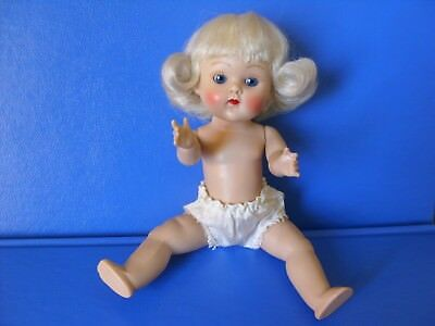 Vtg 1952-3 Strung Ginny Vogue Doll friend Muffie Madame Alexander Kins Ginger 8""