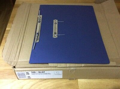 Guildhall Foolscap Blue Transfer File Pack of 23 346-BLUZ