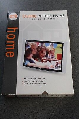 Home Motion Activated Talking Picture Frame,