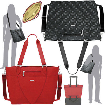 Baggallini Avenue Laptop Tote Travel Handbag Nylon Classical Business Bag