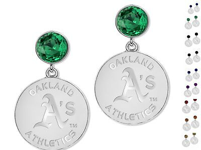 Pick your team! Official MLB Disc Earrings