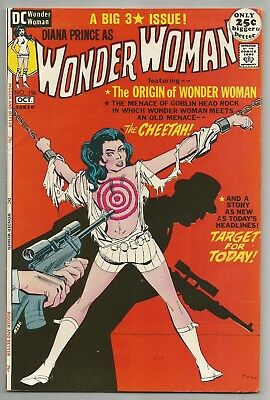 Wonder Woman No. 196 Oct. 1971 Mike Sekowsky Art Dc Comics  Fn-Vf