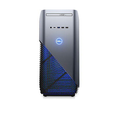 New Dell Inspiron Gaming PC Desktop Intel i7-8700 16GB RAM 128GB SSD GTX 1060