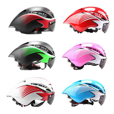 Ultralight Road Mountain Cycling Helmet With Goggles MTB Safty Bicycle Helmet US