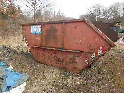 Absetzcontainer Mulde Container Bauschuttcontainer Abfallcontainer 10,0 m³ Nr 1