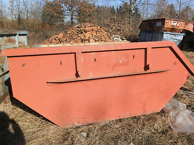 Absetzcontainer Container Mulde Bauschuttcontainer Abfallcontainer 5,0 m³
