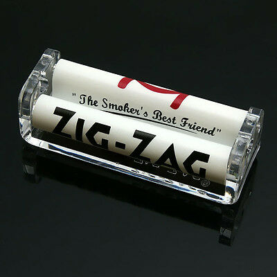 ZIG-ZAG 70mm Easy Handroll Cigarette Tobacco Rolling Machine Roller Maker