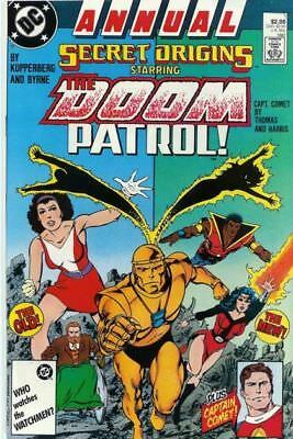 Secret Origins Annual #1 Doom Patrol  Vf