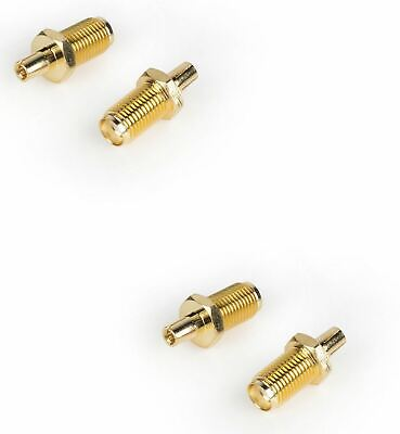 NEW TS9 To RP-SMA Female Adapter Converter RP SMA Jack Gold HOT x4