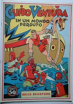 BRICK BRADFORD - IN UN MONDO PERDUTO collana gertie daily N.38 comic art 1978